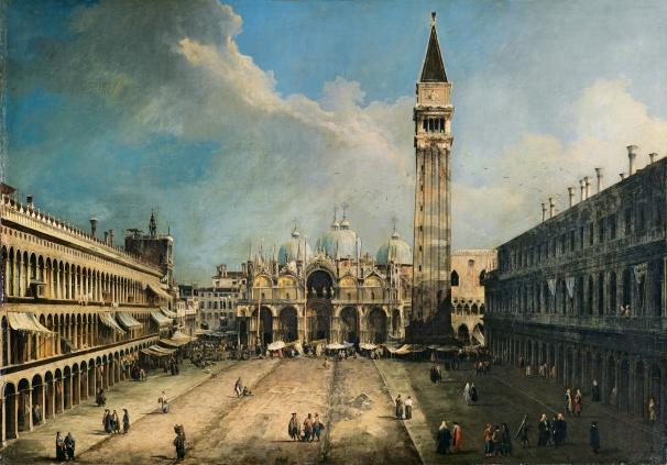 """""""La Plaza de San Marcos en Venecia"""""""